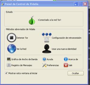 Tor conectado con éxito
